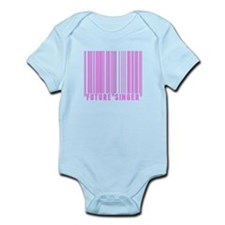 Future Singer Barcode Body Suit