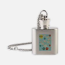 Was it Rape? Flask Necklace
