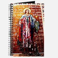 Church fresco art. Journal