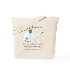 USA Pope Francis Papal Visit Tote Bag