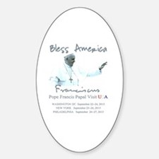 USA Pope Francis Papal Visit Decal
