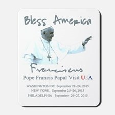 USA Pope Francis Papal Visit Mousepad
