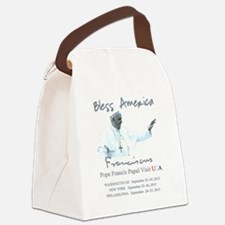 USA Pope Francis Papal Visit Canvas Lunch Bag