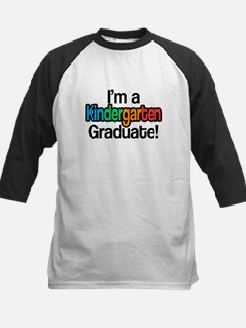 Rainbow Kindergarten Graduate Grad Baseball Jersey