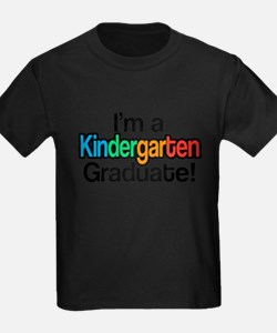 Rainbow Kindergarten Graduate Graduation T-Shirt