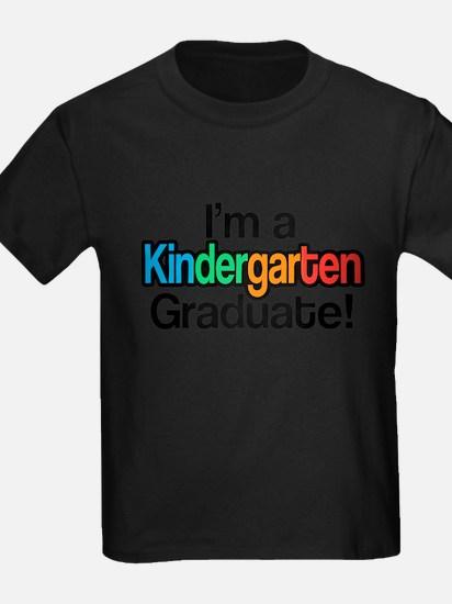 Rainbow Kindergarten Graduate Graduation T-Shirt
