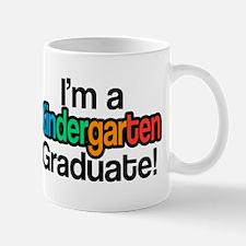 Rainbow Kindergarten Graduate Graduation Mugs