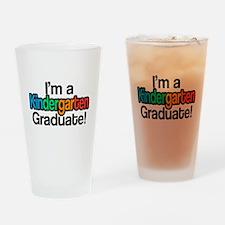 Rainbow Kindergarten Graduate Gradu Drinking Glass