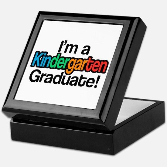 Rainbow Kindergarten Graduate Graduat Keepsake Box