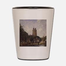 Eugene Boudin - Dordrecht, The Great Ch Shot Glass