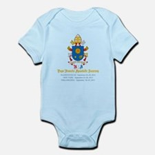 Pope Francis USA Visit Coat of Arms Body Suit