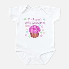 Papa's Little Cupcake Infant Creeper