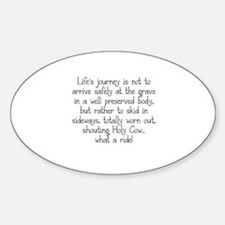 LIFE'S JOURNEY... Decal