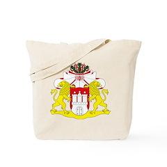 Hamburg Coat of Arms Tote Bag