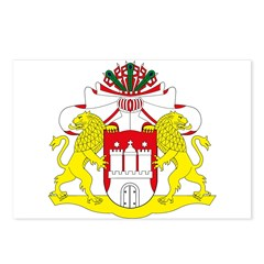 Hamburg Coat of Arms Postcards (Package of 8)