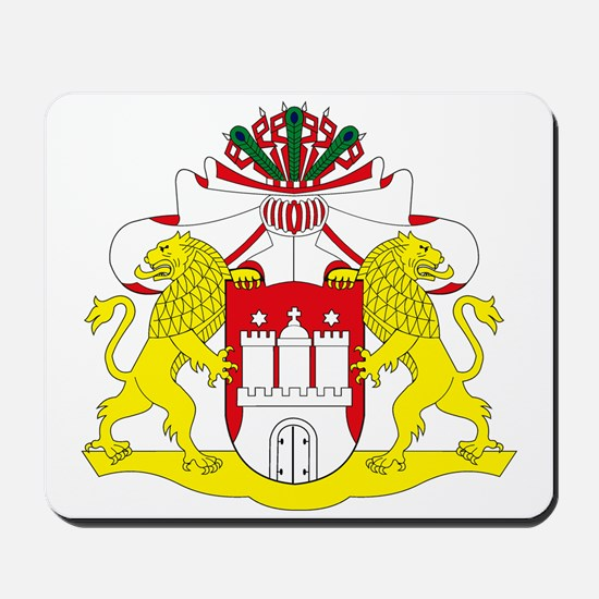 Hamburg Coat of Arms Mousepad