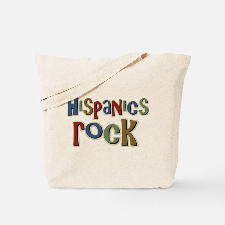 Hispanics Rock Latino Culture Tote Bag