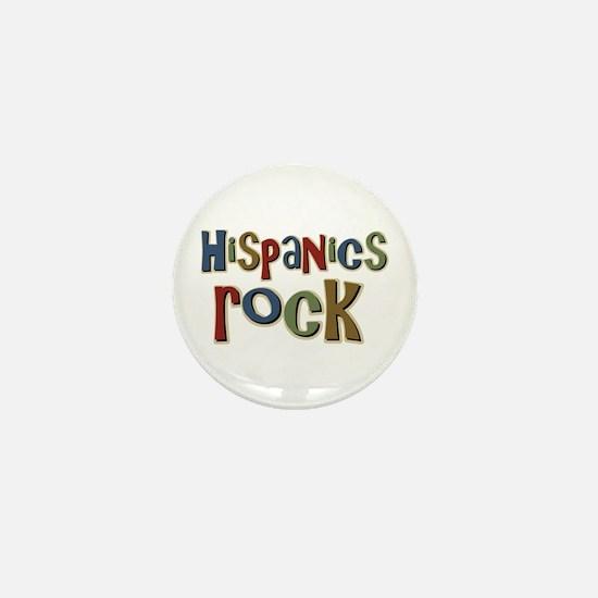 Hispanics Rock Latino Culture Mini Button