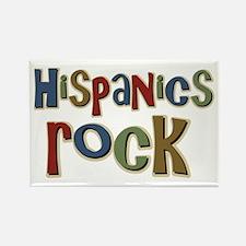 Hispanics Rock Latino Culture Rectangle Magnet