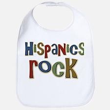 Hispanics Rock Latino Culture Bib