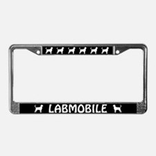 Labmobile License Plate Frame