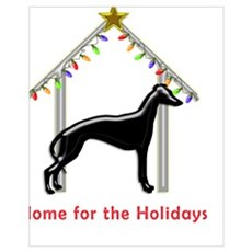 Forever Home for Greyhounds Christmas Poster