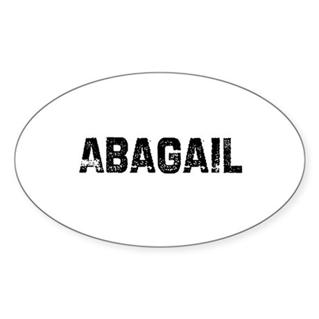 Abagail Oval Sticker