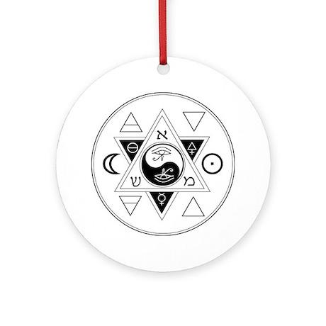 New Hermetics Seal Ornament (Round)