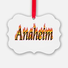 Anaheim Flame Ornament