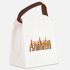 Anaheim Flame Canvas Lunch Bag