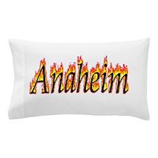 Anaheim Flame Pillow Case