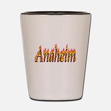 Anaheim Flame Shot Glass