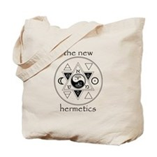 New Hermetics Seal and Title Tote Bag