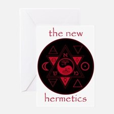 New Hermetics Seal and Title Greeting Card