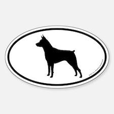 Min Pin Sticker (Oval)