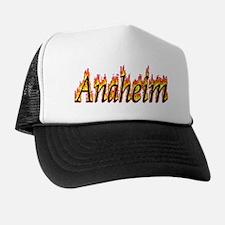 Anaheim Flame Trucker Hat