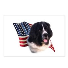 Newfie Flag Postcards (Package of 8)