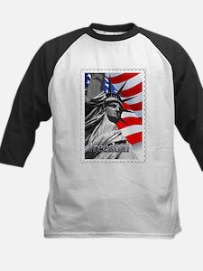 GRAPHIC STATUE OF LIBERTY WITH FLA Baseball Jersey