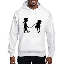 Walkin' For Raven silhouette hoodie