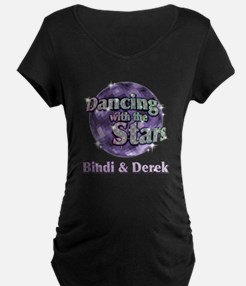 Dwts Bindi & Derek Dark Maternity T-Shirt
