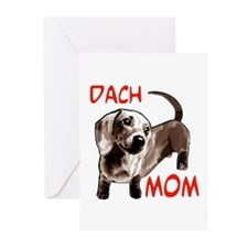 dach Greeting Cards (Pk of 10)