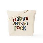 Native Americans Rock Pride Tote Bag
