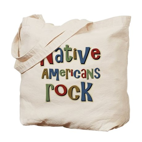 Native Americans Rock Pride Tote Bag