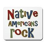 Native Americans Rock Pride Mousepad