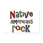 Native Americans Rock Pride Mini Poster Print