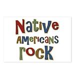Native Americans Rock Pride Postcards (Package of