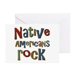 Native Americans Rock Pride Greeting Cards (Pk of