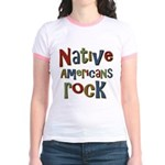 Native Americans Rock Pride Jr. Ringer T-Shirt