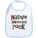 Native Americans Rock Pride Bib