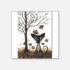 Fall Feline Sticker